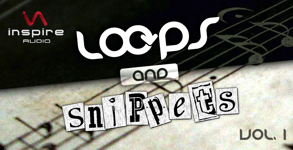 Inspire Audio - Loops & Snippets Vol.1 - sample library