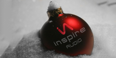 Inspire Audio Christmas Ball