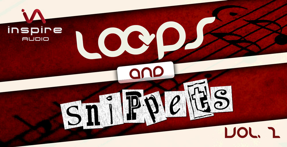 Inspire Audio - Loops & Snippets Vol. 2 - sample library