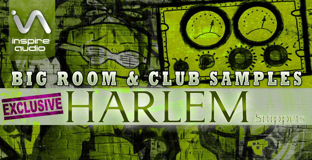 Inspire Audio - Harlem Snippets - sample library