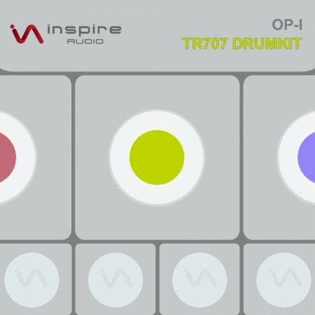 [IA] Inspire Audio OP-1 TR707 Space Echo Drumkit (free download)