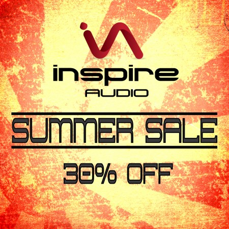 INSPIRE AUDIO - Summer Sale 2014