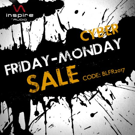 Inspire Audio Black Friday Cyber Monday 2017